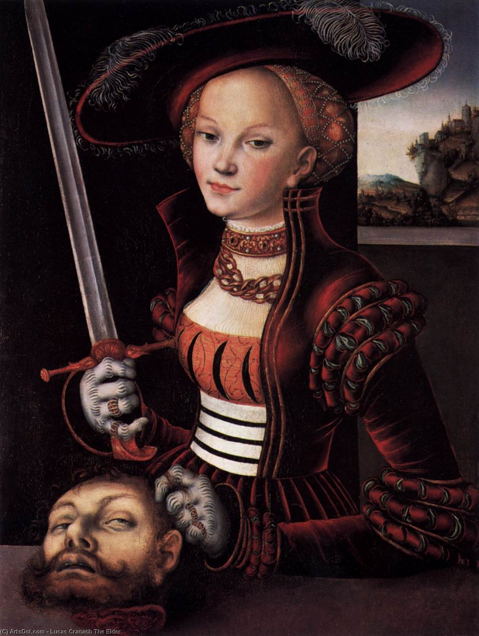 Judith Sieg, 1530 von Lucas Cranach The Elder (1472-1553, Germany) | ArtsDot.com
