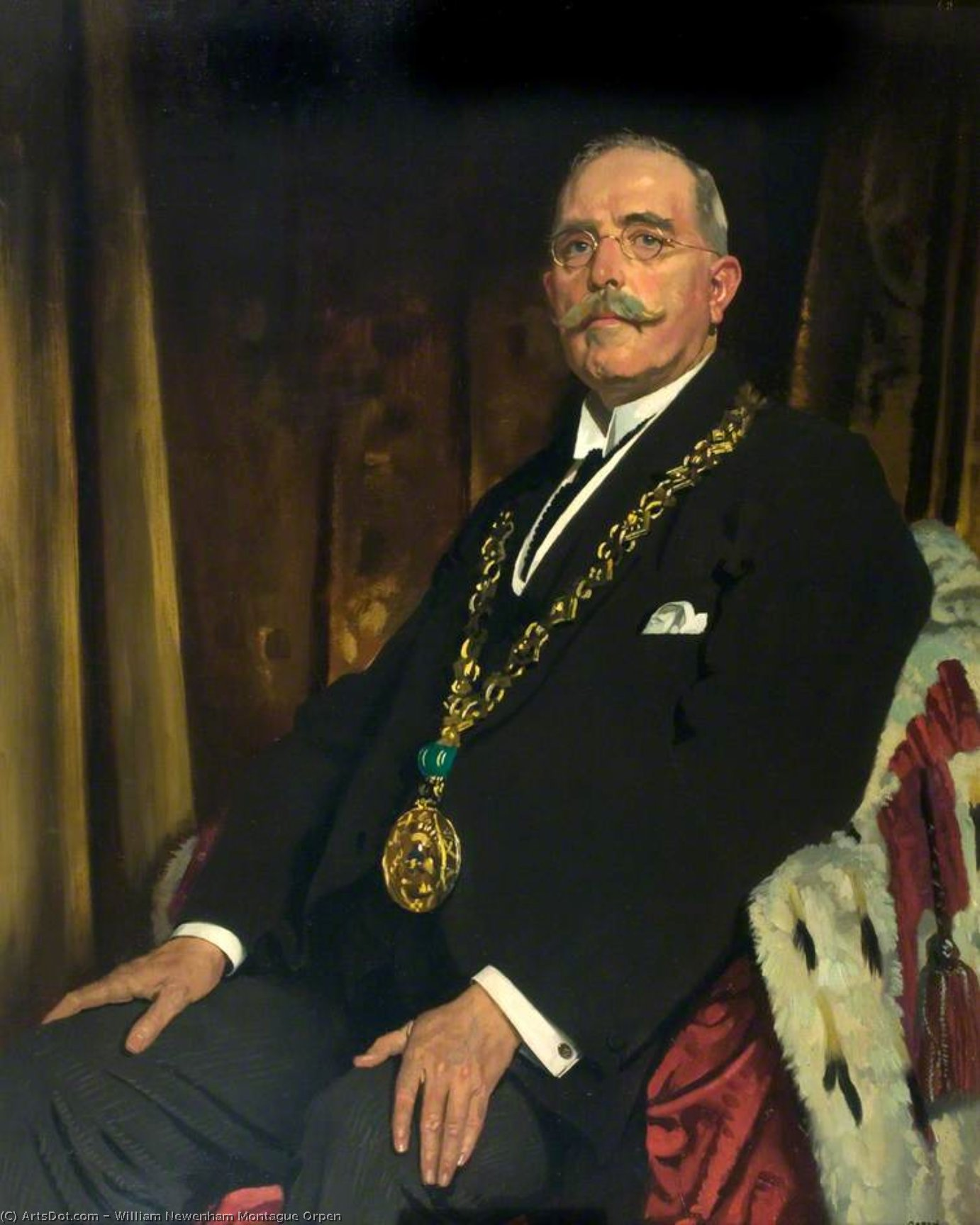 sir alexander spence von William Newenham Montague Orpen (1878-1931, Ireland)