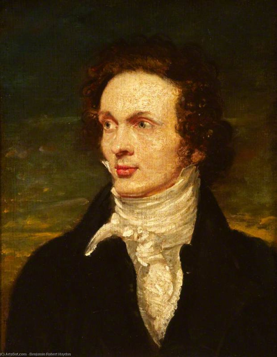 thomas alcock von Benjamin Robert Haydon (1786-1846, United Kingdom)