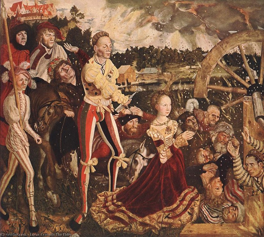 ohne titel 7205   von Lucas Cranach The Elder (1472-1553, Germany)