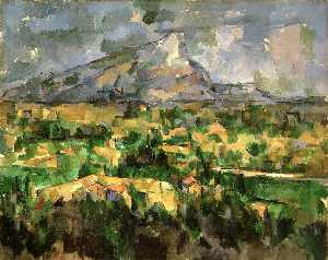 Paul Cezanne - Mont Sainte-Victoire ( Ph..