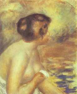 Pierre-Auguste Renoir - der bather