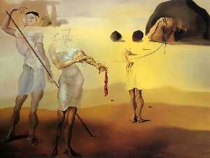 Salvador Dali - The Enchanted Strand