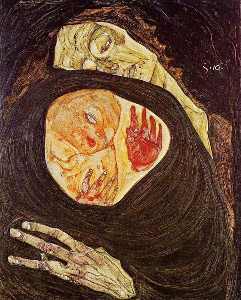 Egon Schiele - tot mutter
