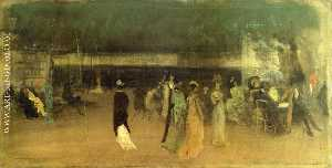 James Abbott Mcneill Whistler - Cremorne Gärten , Nein . 2