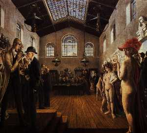 Paul Delvaux - der Kongress