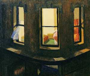 Edward Hopper - Nacht Windows
