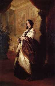 Franz Xaver Winterhalter - harriet howard , herzogin von sutherland