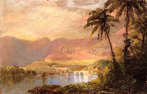 Frederic Edwin Church - tropische landschaft