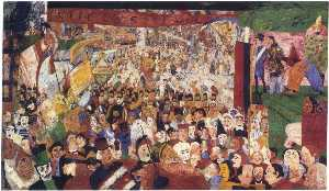 James Ensor - Einzug Christi In Brüssel