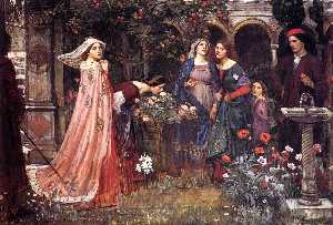 John William Waterhouse - Der verzauberte Garten