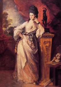 Thomas Gainsborough - Dame Ligonier