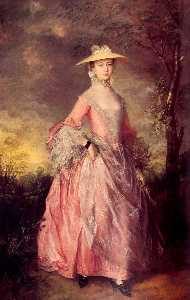 Thomas Gainsborough - Maria , gräfin von howe