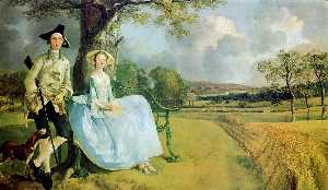 Thomas Gainsborough - Herr . und mrs . Andrews