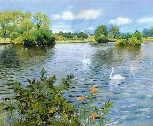William Merritt Chase - a lang insel see