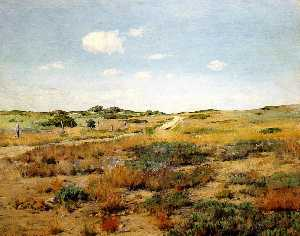 William Merritt Chase - Shinnecock Hügel