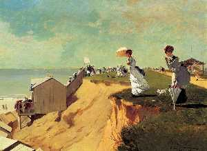 Winslow Homer - langer zweig , new jersey