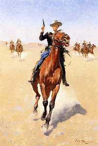 Frederic Remington - Der Soldat