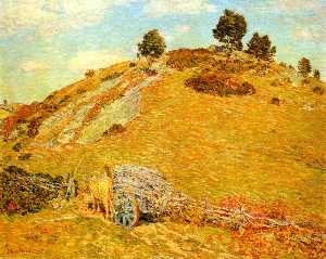 Frederick Childe Hassam - Bornero Hügel , old lyme , Connecticut