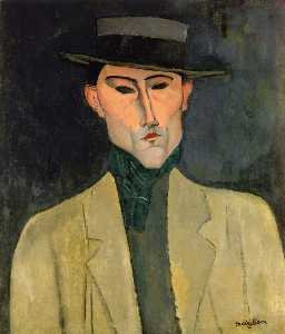 Amedeo Modigliani - Man witih Hut