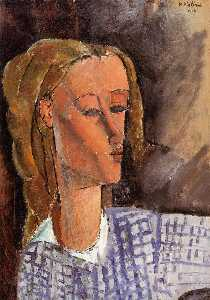 Amedeo Modigliani - Portrait von Beatrice Hastings