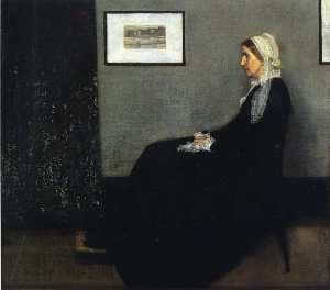 James Abbott Mcneill Whistler - arrangement in grau und schwarz . Porträt des Painter-s Mutter