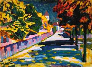 Wassily Kandinsky - herbst in bayern