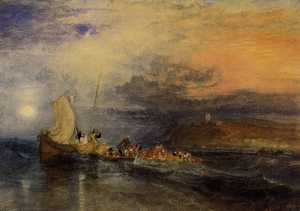 William Turner - Folkestone von dem Meer