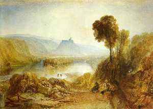 William Turner - Prudhoe Schloss , Northumberland