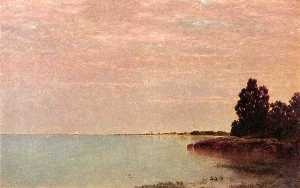 John Frederick Kensett - long neck point ins zufriedenh..