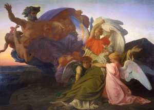 Alexandre Cabanel - tod von moses
