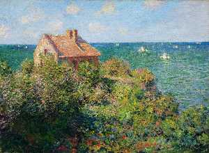Claude Monet - Fisherman-s ferienhaus in varengeville