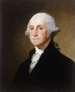 Gilbert Stuart - george washington ( 8 )