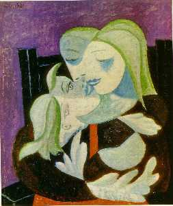 Pablo Picasso - Mutter und kind ( Marie-T..