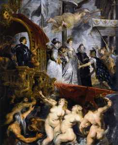 Peter Paul Rubens - die landung in marseille , 3rd November 1600