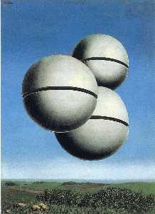Rene Magritte - Die stimme des raumes