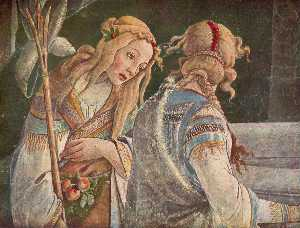 Sandro Botticelli - The Youth Moses ( ausschn..