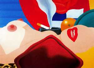 Tom Wesselmann - great american nude nein ..