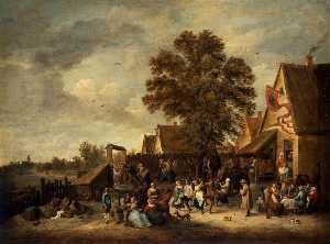 David The Younger Teniers - der dorf Fest