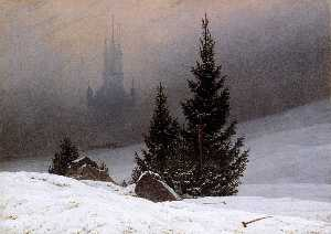 Caspar David Friedrich - winterlandschaft