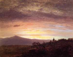 Frederic Edwin Church - Berg Katahdin