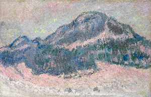 Claude Monet - Berg Kolsaas stieg  reflektion