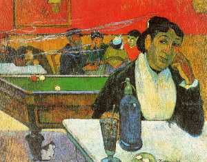 Paul Gauguin - nacht café in arles ( madame ginoux )