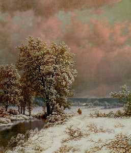 William Mason Brown - schnee szene