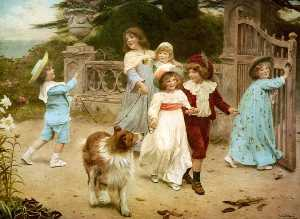 Charles Burton Barber - Spannung