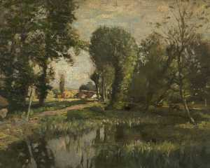 Frederick William Jackson - Landschaft ein