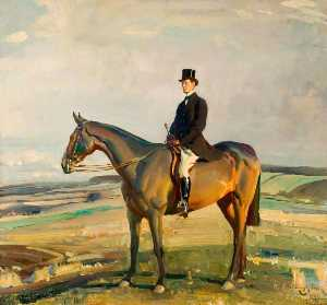 Alfred James Munnings - raymond greene , Dso , Mp..