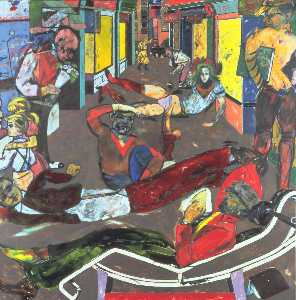 Ronald Brooks Kitaj - Cecil Platz
