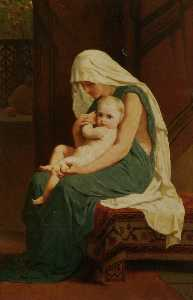 Frederick Goodall - mutter und kind