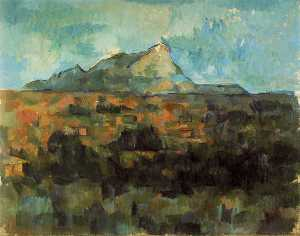 Paul Cezanne - Lauves - ( 802 )